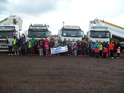 United Trucks Children Convoy